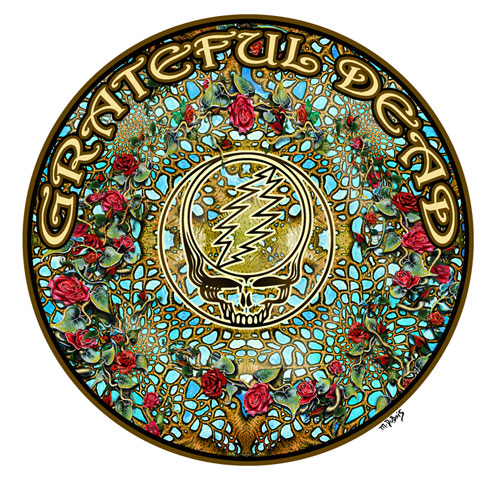 Grateful Dead Art by Mike DuBois