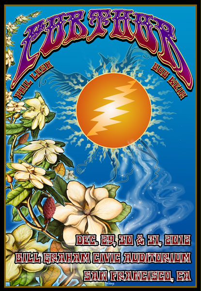 Furthur  New Years 2013 by Michael DuBois