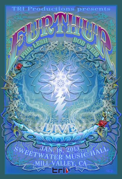 Furthur Sweetwater Webcast 1.18.13 by Michael DuBois