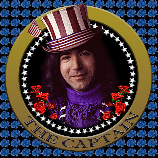 Jerry Garcia - The Captain