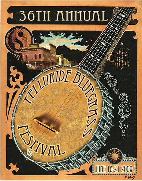 Telluride Bluegrass 2009 by Mike DuBois