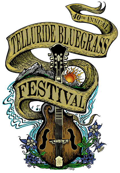 Telluride Bluegrass 2013 by Mike DuBois