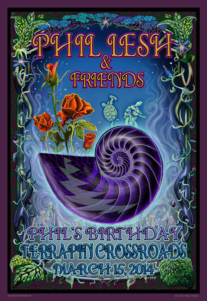 Phil Lesh & Friends March 15, 2014 by Mike DuBois