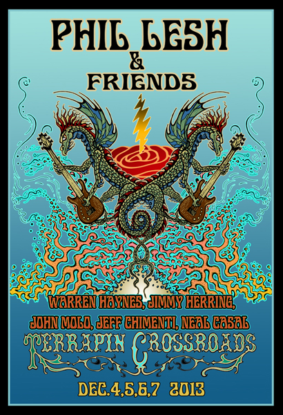Phil Lesh & Friends Terrapin Crossroads December 2013 by Mike DuBois