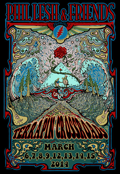 Phil Lesh & Friends March 2014 by Mike DuBois