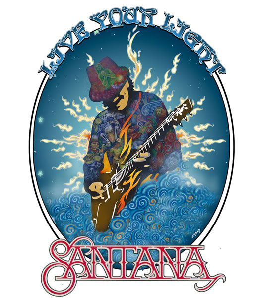 Santana Live Your Light
