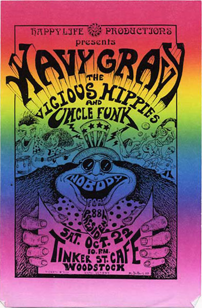Wavy Gravy Flyer by Mike DuBois