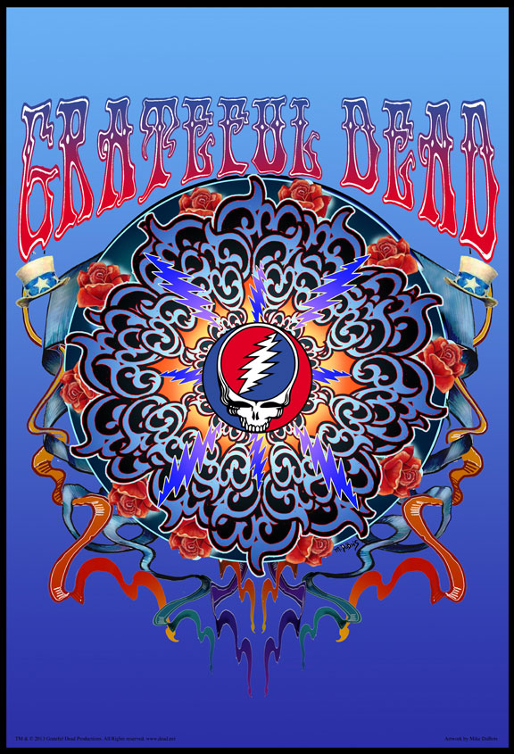 Grateful Dead Artwork by Mike DuBois