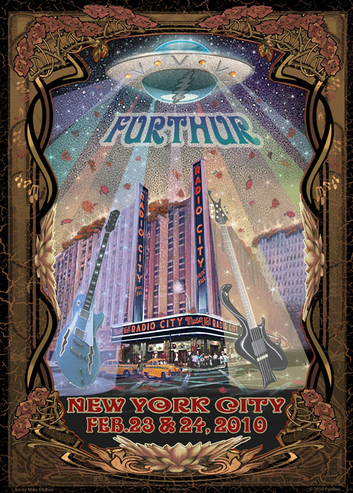 Furthur Radio City 2010