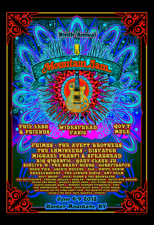 Mountain Jam 2013 by Michael DuBois
