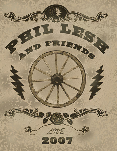 Phil & Friends Wheel Poster 2007