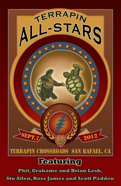 Terrapin Crossroads All-Stars 2012 by Michael DuBois
