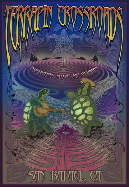 Terrapin Crossroads Art by Mike DuBois