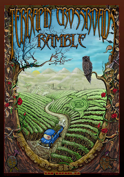 Terrapin Crossroads Ramble 2012 by Michael DuBois